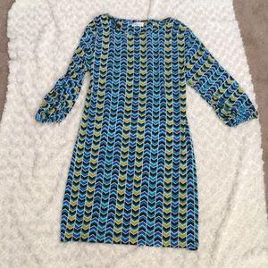 Calvin Klein split sleeve dress
